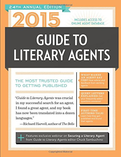 2015 Guide to Literary Agents The Most Trusted Guide to Getting Published 24th 2014 edition cover