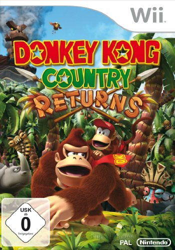 Nintendo Donkey Kong Country Returns (Wii) Nintendo Wii artwork