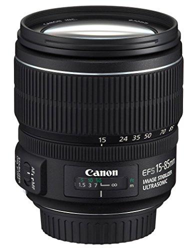 Canon EF-S 15-85 mm f/3.5-5.6 IS USM Lens - Black product image