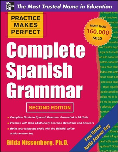 Complete Spanish Grammar  2nd 2011 edition cover