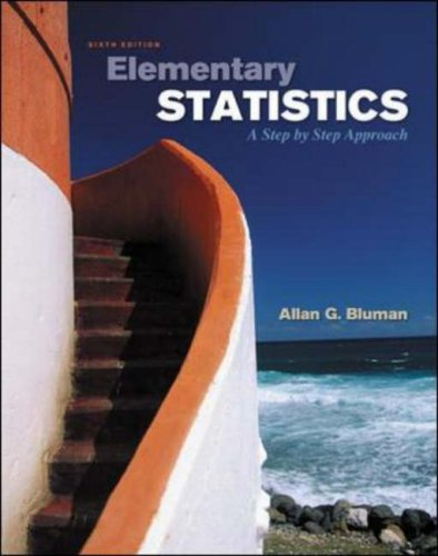 Elementary Statistics  6th 2007 (Revised) edition cover