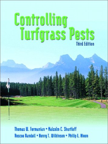 Controlling Turfgrass Pests  3rd 2003 9780130981431 Front Cover