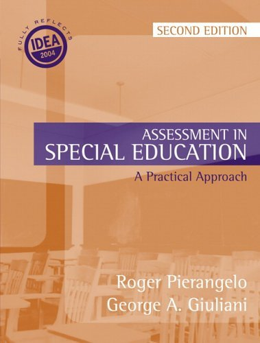Assessment in Special Education  2nd 2006 (Revised) 9780205416431 Front Cover