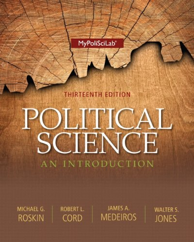 Political Science + New Mypoliscilab With Pearson Etext Access Card Package: An Introduction  2013 edition cover