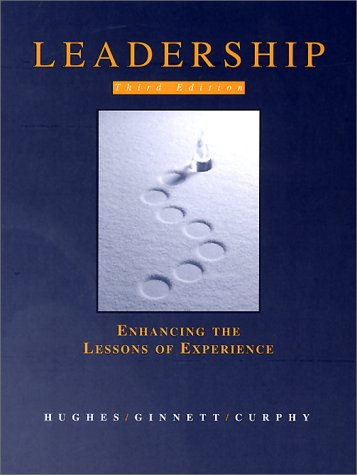 Leadership Enhancing the Lessons of Experience 3rd 1999 9780256261431 Front Cover