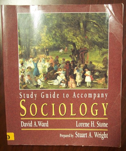 Sociology 1st 1996 (Student Manual, Study Guide, etc.) 9780314064431 Front Cover