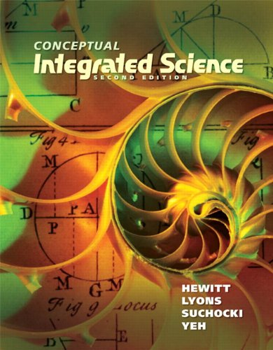 Conceptual Integrated Science  2nd 2013 edition cover