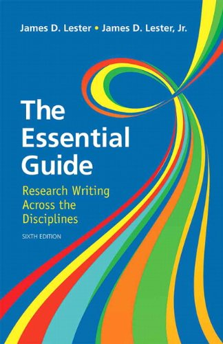 Essential Guide Research Writing 6th 2013 (Revised) edition cover