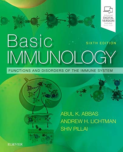 Basic Immunology Functions and Disorders of the Immune System 6th 2020 9780323549431 Front Cover