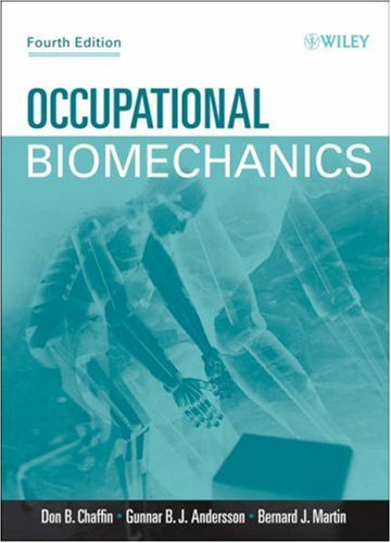 Occupational Biomechanics  4th 2006 (Revised) edition cover