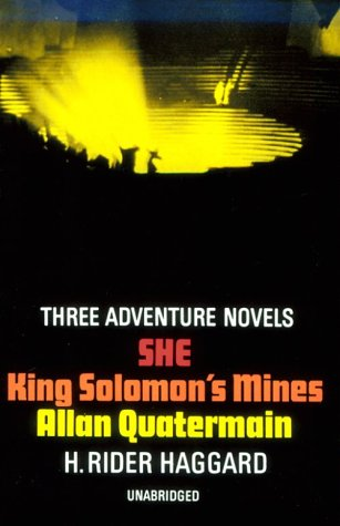 King Solomon's Mines, Allan Quatermain, She  N/A edition cover