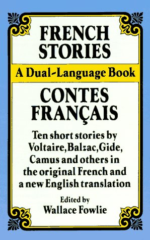French Stories / Contes Francais A Dual-Lanaguage Book (English/French)  1990 edition cover