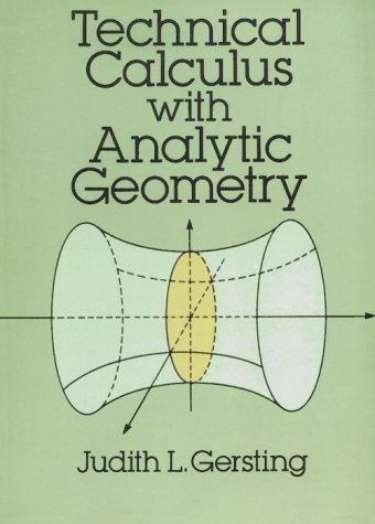 Technical Calculus with Analytic Geometry   1992 (Unabridged) edition cover