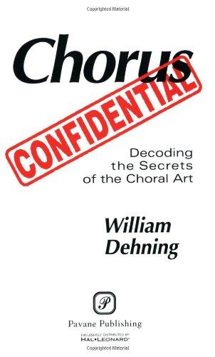 Chorus Confidential 1st edition cover