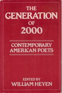 Generation of 2000 : Contemporary American Poets 1st 9780865380431 Front Cover