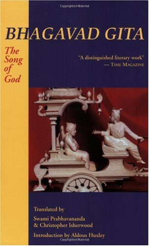 Bhagavad-Gita : The Song of God 4th 1987 edition cover