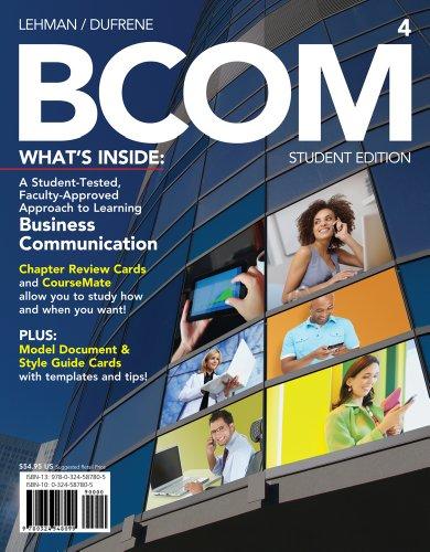 BCOM  4th 2013 edition cover