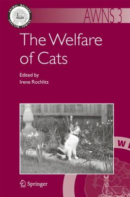 Welfare of Cats   2007 9781402061431 Front Cover