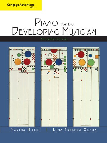 Essential Piano for the Developing Musician  6th 2011 edition cover