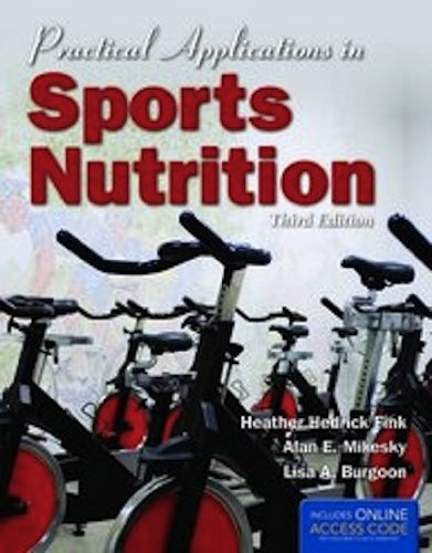 Practical Applications in Sports Nutrition  3rd 2012 edition cover