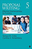 Proposal Writing Effective Grantsmanship for Funding 5th 2017 9781483376431 Front Cover