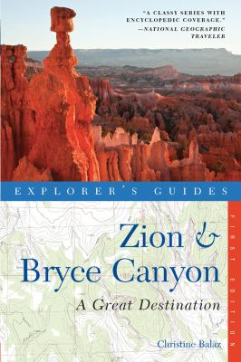 Zion and Bryce Canyon  N/A 9781581571431 Front Cover