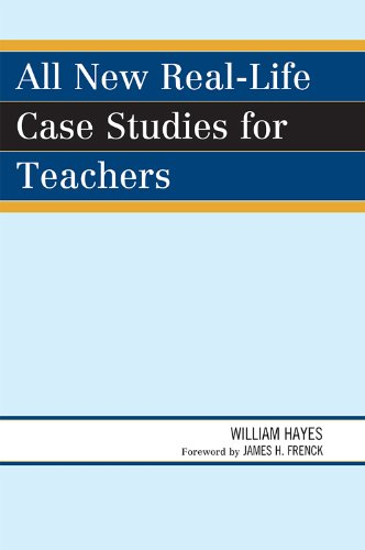 All New Real-Life Case Studies for Teachers   2009 edition cover