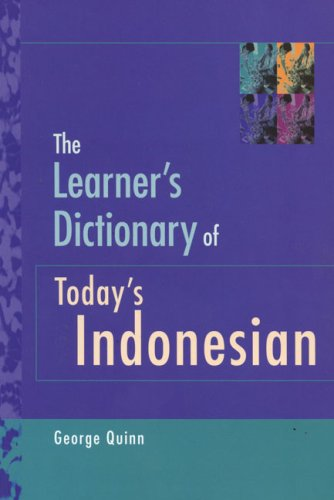 Learner's Dictionary of Today's Indonesian   2001 edition cover