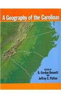 Geography of the Carolinas  2007 edition cover