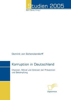 Korruption in Deutschland   2006 9783832493431 Front Cover