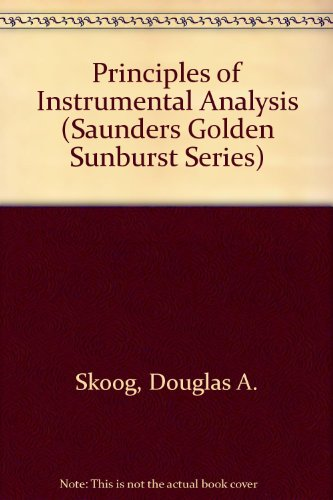 Principles of Instrumental Analysis 4th 1992 edition cover