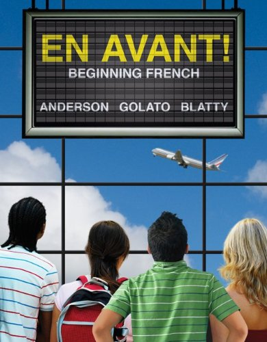 En Avant! Beginning French  2012 edition cover