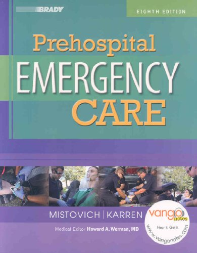Prehospital Emergency Care:  2007 edition cover