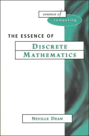 Essence of Discrete Mathematics   1997 9780133459432 Front Cover