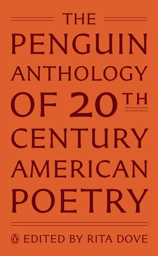 Penguin Anthology of 20th-Century American Poetry   2011 edition cover