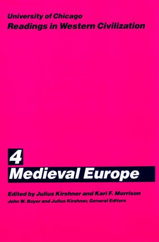 University of Chicago Readings in Western Civilization Medieval Europe  1986 (Reprint) edition cover