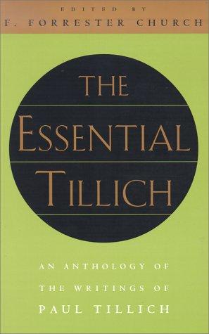 Essential Tillich   1999 edition cover