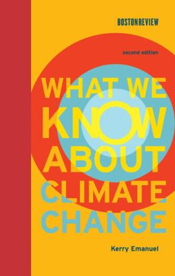 What We Know about Climate Change  2nd 2012 edition cover