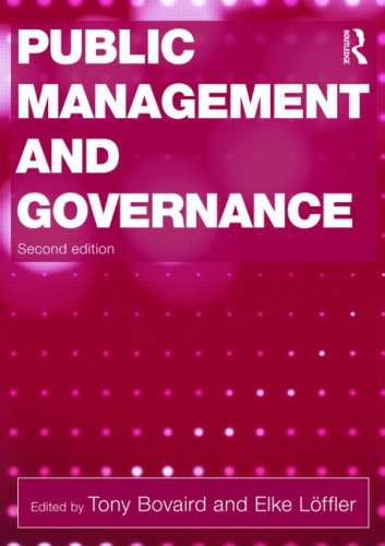Public Management and Governance  2nd 2009 (Revised) edition cover