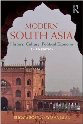 Modern South Asia History, Culture, Political Economy 3rd 2011 (Revised) edition cover