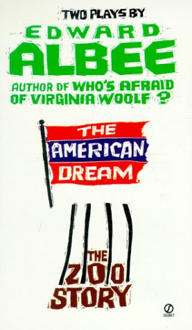 American Dream; The Zoo Story  N/A edition cover