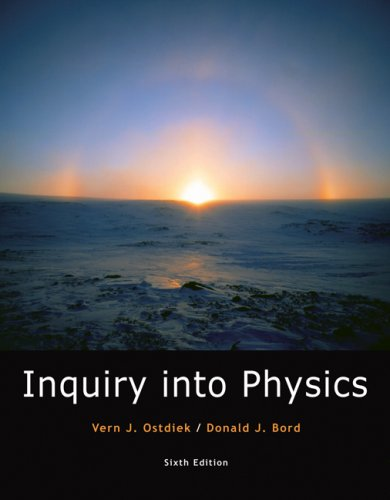 Inquiry into Physics  6th 2008 (Revised) 9780495119432 Front Cover