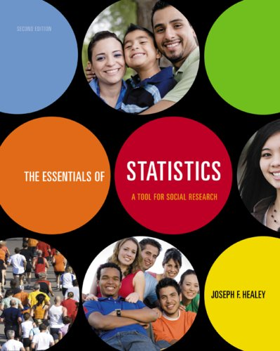Essentials of Statistics A Tool for Social Research 2nd 2010 edition cover