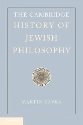 Cambridge History of Jewish Philosophy The Modern Era  2012 9780521852432 Front Cover