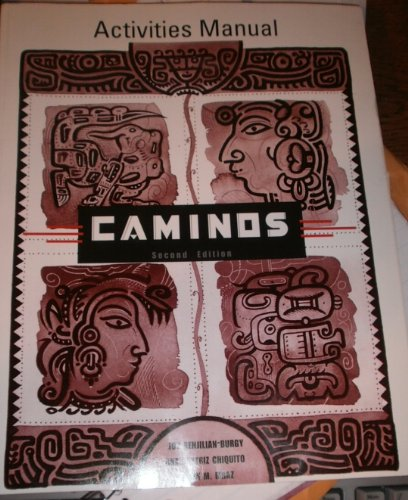 Caminos  2nd 2002 9780618112432 Front Cover