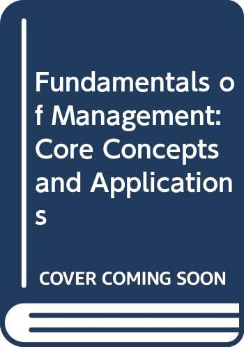 Fundamentals of Management Text with Free Real Deal Upgrade 3rd 2003 9780618224432 Front Cover
