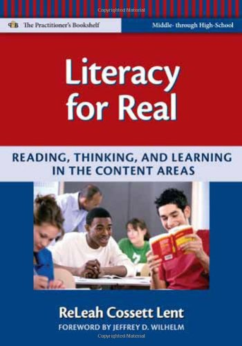 Literacy for Real Reading, Thinking, and Learning in the Content Areas  2009 (Revised) edition cover