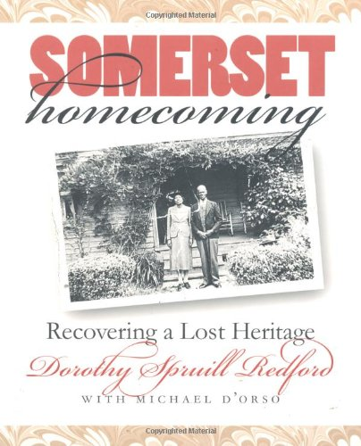 Somerset Homecoming Recovering a Lost Heritage  2000 edition cover