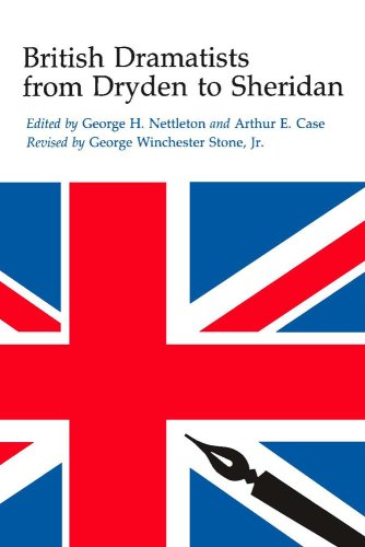 British Dramatists from Dryden to Sheridan  2nd edition cover