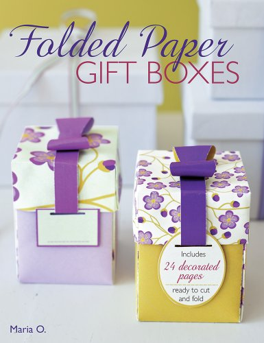 Folded Paper Gift Boxes:   2013 edition cover